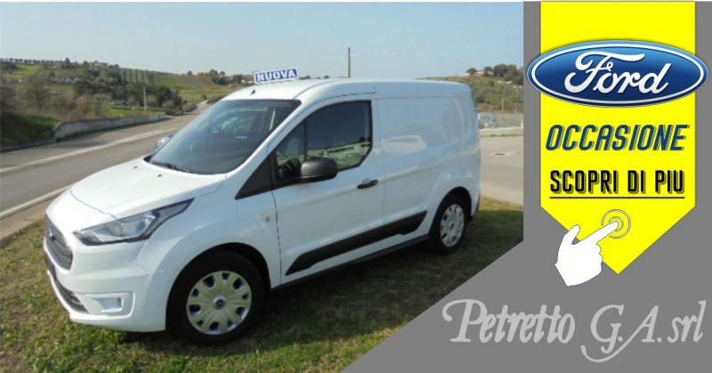 PETRETTO Ozieri - occasione Ford New Connect VAN TRD 1.5TDCI 100CV 200L1h1 Diesel
