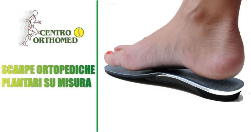 CENTRO ORTHOMED offerta scarpe ortopediche - occasione plantari su misura cura patologie piede