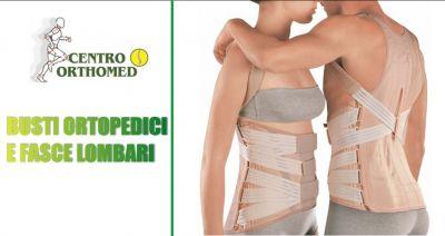 centro orthomed convenzionato asl offerta busti ortopedici rigidi fasce lombari