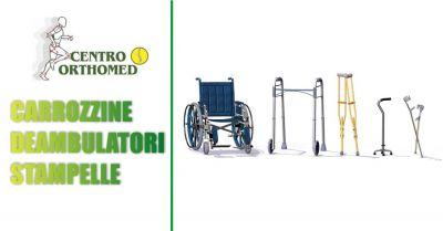 centro orthomed convenzionato asl offerta carrozzine deambulatori stampelle