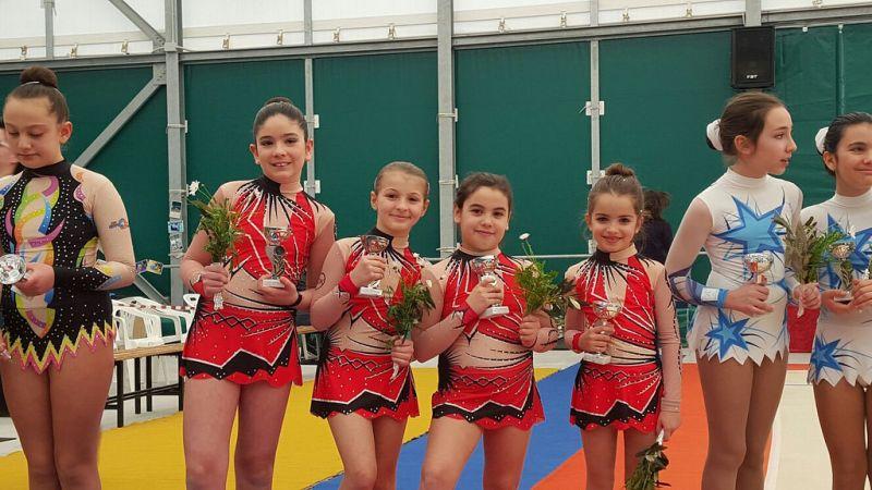 ginnastica ritmica kodokan - gare regionali di ritmica palestra Kodokan Salerno