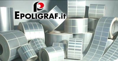 offerta vendita etichette in bobina neutre occasione fornitura rotoli di etichette adesive