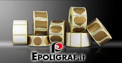 offerta etichette adesive personalizzate occasione etichette adesive a trasferimento termico