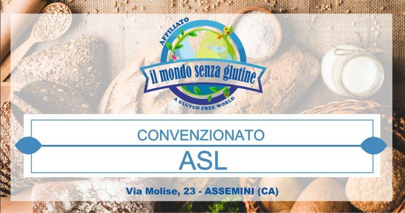 MONDO SENZA GLUTINE  convenzionato Asl - offerta prodotti per celiaci  intolleranze alimentari