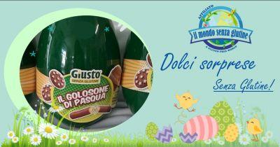 mondo senza glutine assemini convenzionato asl offerta uovo pasqua celiaci giusto