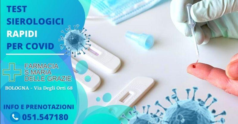 Offerta test sierologico rapido farmacia Bologna - Occasione test rapido gratuito Covid Bologna