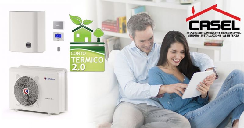 C.AS.EL. - offerta pompa di calore ad alta efficienza energetica Chaffoteaux incentivi conto termico 2.0
