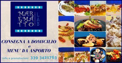 promozione menu di pesce da asporto e con consegna a domicilio livorno mare matto