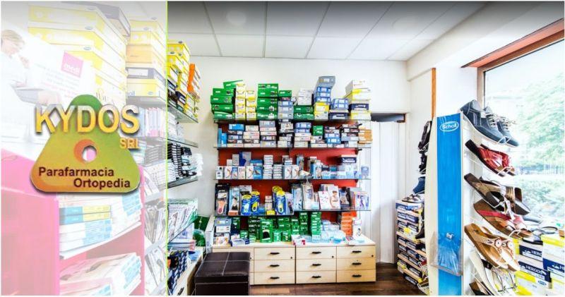 KYDOS ORTOPEDIA - offerta vendita articoli ortopedici riabilitazione motoria