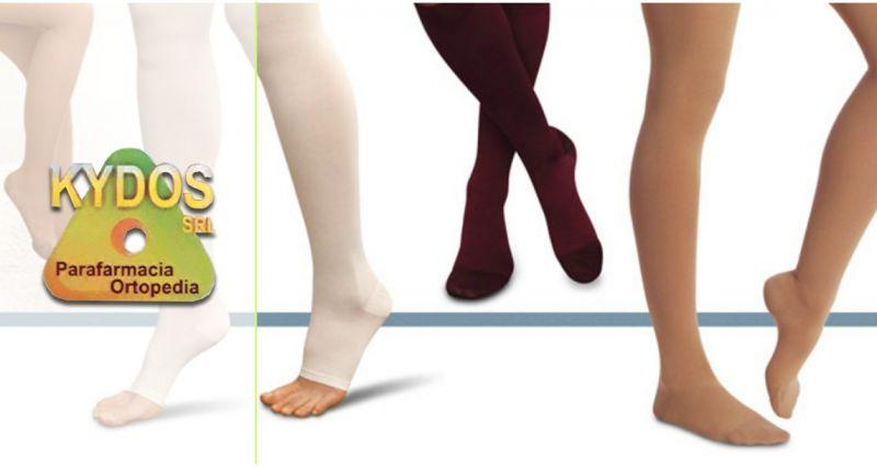 KYDOS ORTOPEDIA - offerta vendita collant compressione graduata calze medicali antitrombo