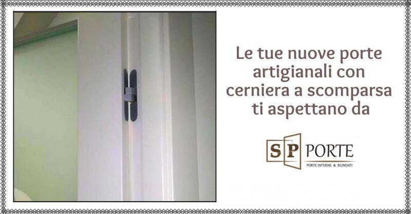 SP PORTE - offerta montaggio porte su misura con cerniera a scomparsa caserta