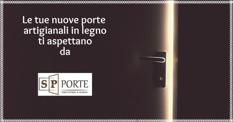 SP PORTE - offerta vendita e installazione porte artigianali in legno caserta