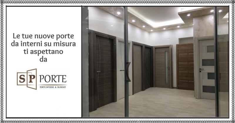 SP PORTE - offerta realizzazione porte da interni su misura caserta