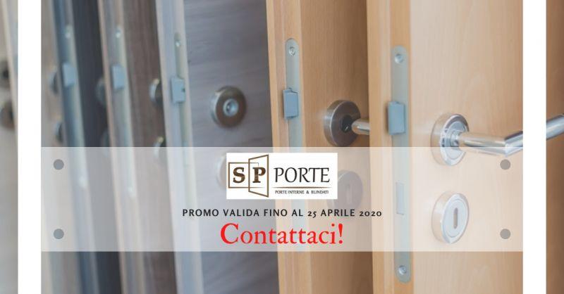 SP PORTE - promozione realizzazione e montaggio porta semplice in legno caserta