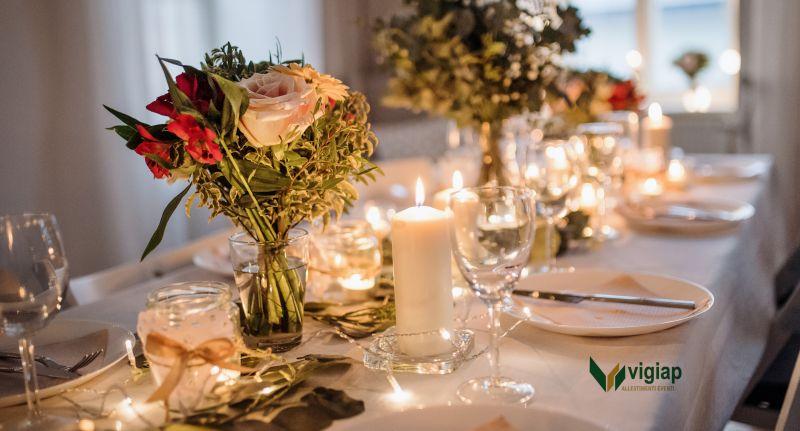 Vigiap offerta allestimenti per matrimoni - occasione noleggio attrezzature feste Napoli