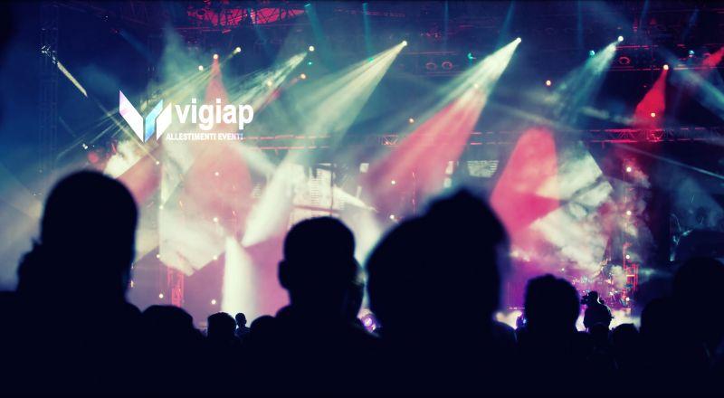 VIGIAP offerta noleggio palchi per eventi - occasione noleggio allestimenti eventi Napoli