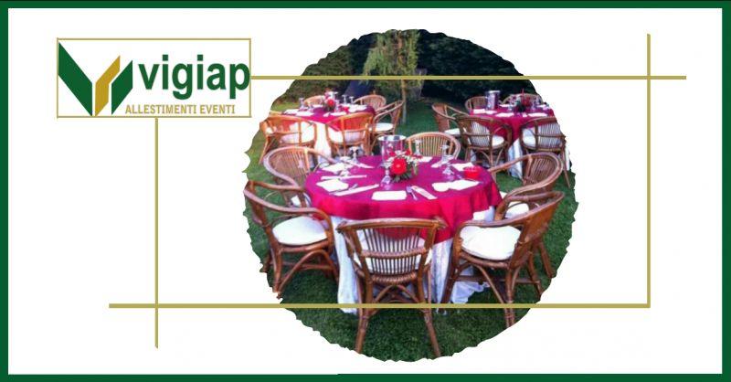 VIGIAP offerta noleggio sedie per eventi nola - occasione affitto tavoli per catering nola