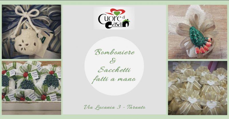 cuore di casa offerta bomboniere artigianali taranto - promozione bomboniere st etienne taranto