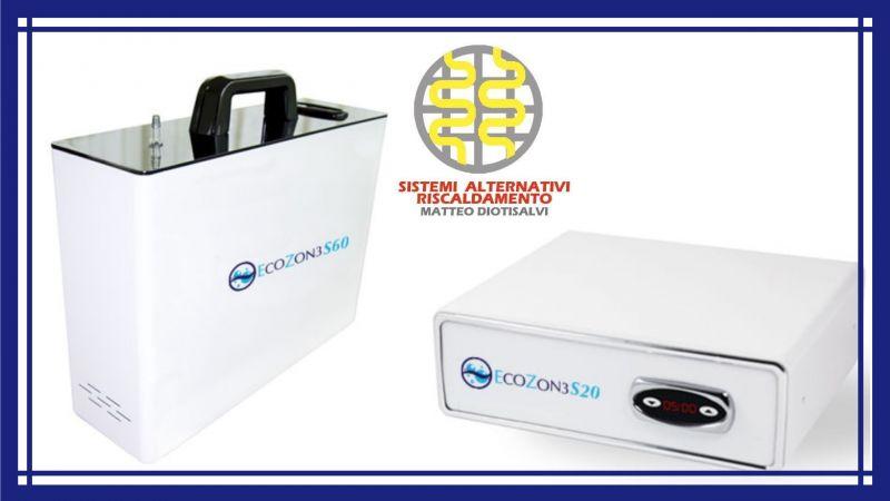 SISTEMI RISCALDAMENTO Matteo Diotisalvi - Desinfektionstechnologie mit Ozonsystemen