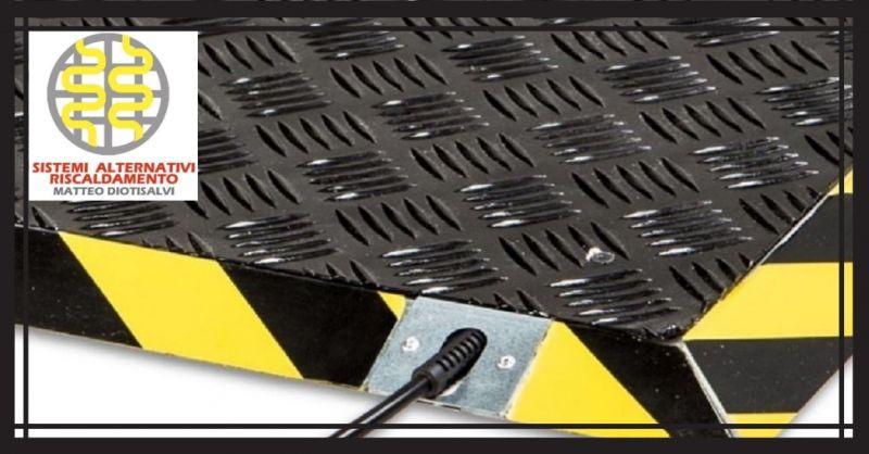 Förderung von Raumheizungssystemen mit Strahlungsplattformen für Werkstätten