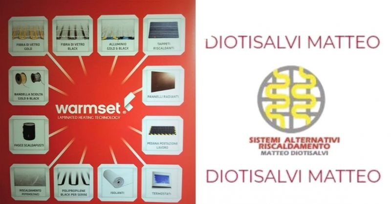 SISTEMI RISCALDAMENTO Matteo Diotisalvi - Elektrische Heizungen für jede Anwendung