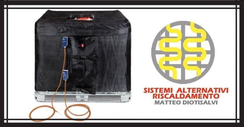 Alternative Heizsysteme von Matteo Diotisalvi - 25 Lt Trommelwärmerband