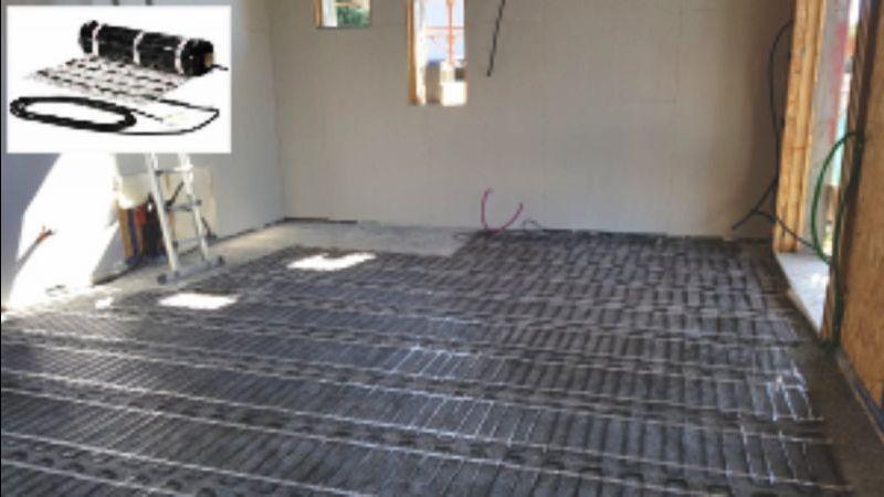Anlass Online-Verkauf von Fußbodenheizungssystemen