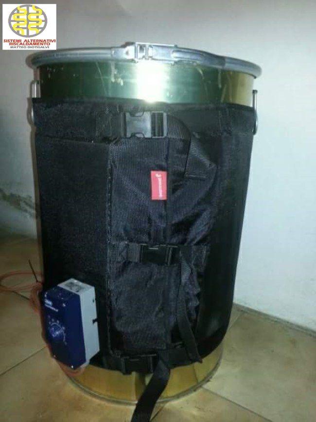 Occasione vendita online sistemi scaldafusti scalda cisterne e coperte termostatiche made in Italy