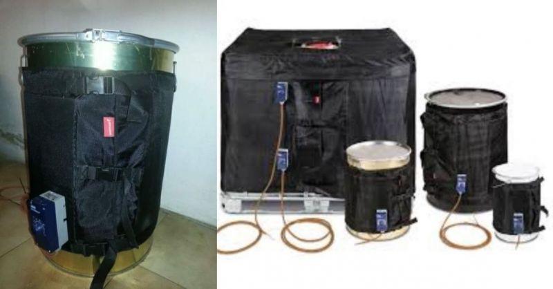 Opportunité de vente en ligne de systèmes de chauffage de fûts, chauffe-réservoirs et couvertures thermostatiques fabriqués en Italie