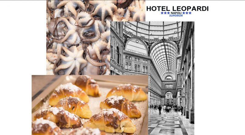 HOTEL LEOPARDI offerta soggiorni turistici - occasione soggiorni di lavoro Napoli