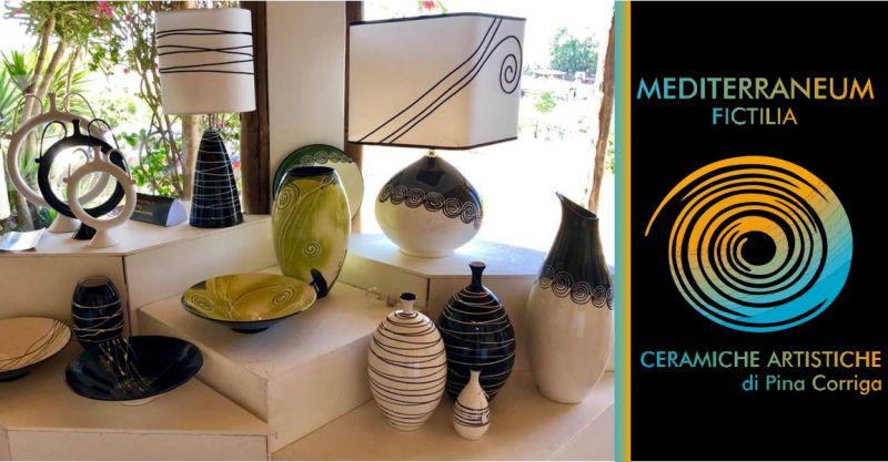 Mediterraneum Fictilia laboratorio Solarussa - offerta ceramiche artistiche sarde Pina Corriga