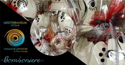 mediterraneum fictilia laboratorio offerta bomboniere ceramica artistica matrimonio