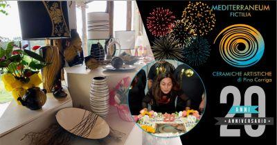 mediterraneum fictilia laboratorio di ceramiche artistiche festeggia vent anni articolo la nuova sardegna