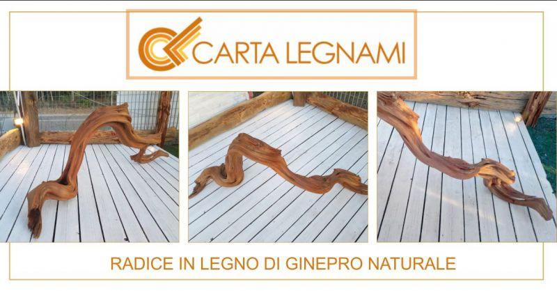 CARTA LEGNAMI - offerta radice in legno di ginepro naturale decorativa