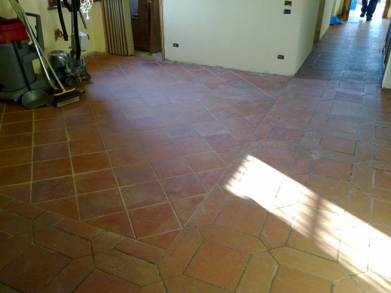 ICLEAN offerta trattamento pavimenti in cotto interni ed esterni Umbertide