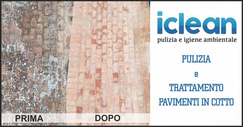 iclean offerta pulizia pavimenti in cotto - occasione trattamento pavimento in cotto esterno
