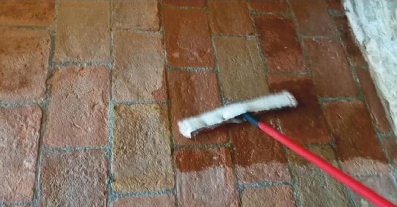 ICLEAN offerta trattamento pavimenti in cotto per interni ed esterni Castiglione del Lago