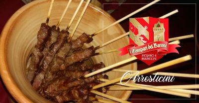offerta ristorante specialita arrosticini tortoreto occasione spiedini di carne tortoreto