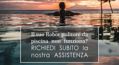 pcr italia offerta riparazione robot pulitori piscine promozione assistenza robot elettrici