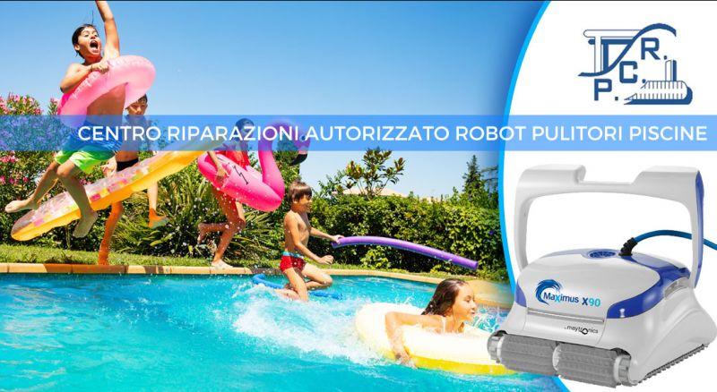 PCR ITALIA - occasione vendita e assistenza ROBOT PULITORI PISCINE - offerta centro riparazioni autorizzato Dolphin