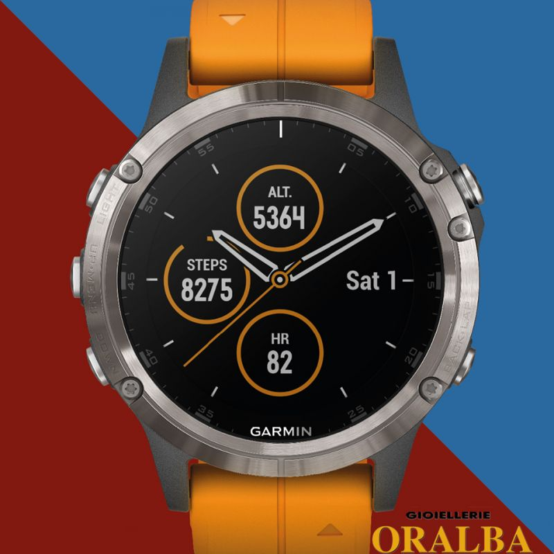 Gioiellerie ORALBA - Offerta orologi GARMIN Smartwatch Fènix Titanium ad Alba Cuneo Valenza