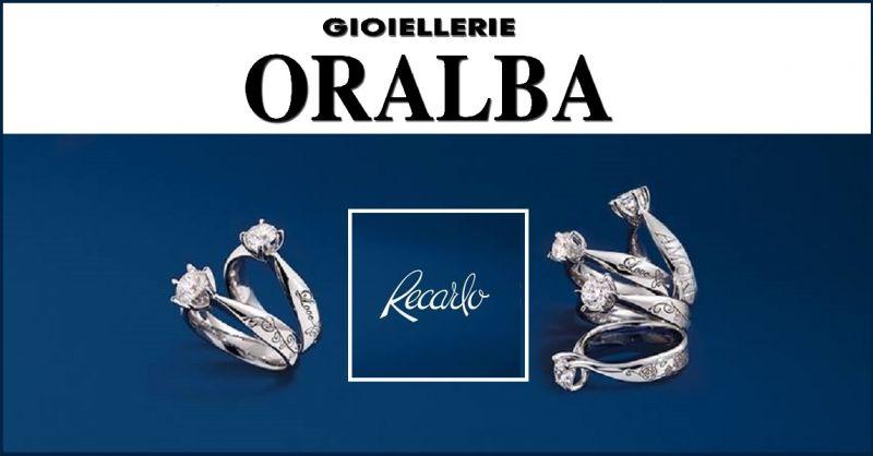 Gioiellerie ORALBA - Occasione Anello trilogy Recarlo diamante taglio a cuore ad ALBA CUNEO