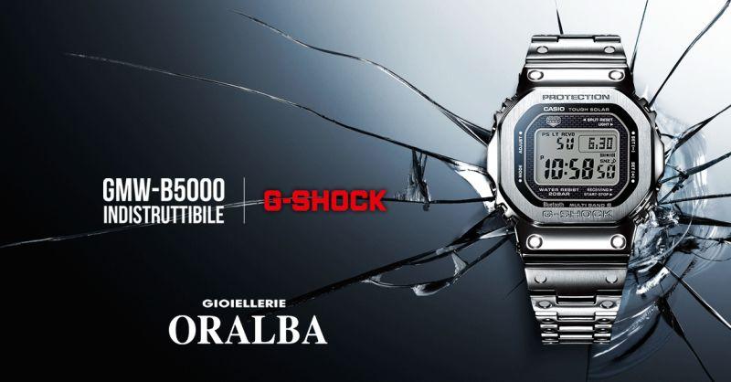 gioiellerie ORALBA - occasione orologio digitale CASIO g shock B5000 CUNEO ALBA