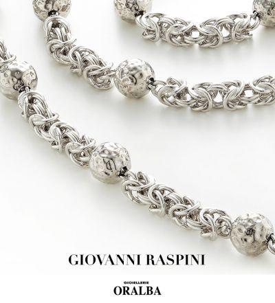 gioielleria oralba offerta bracciali collane giovanni raspini impero argento cuneo alba