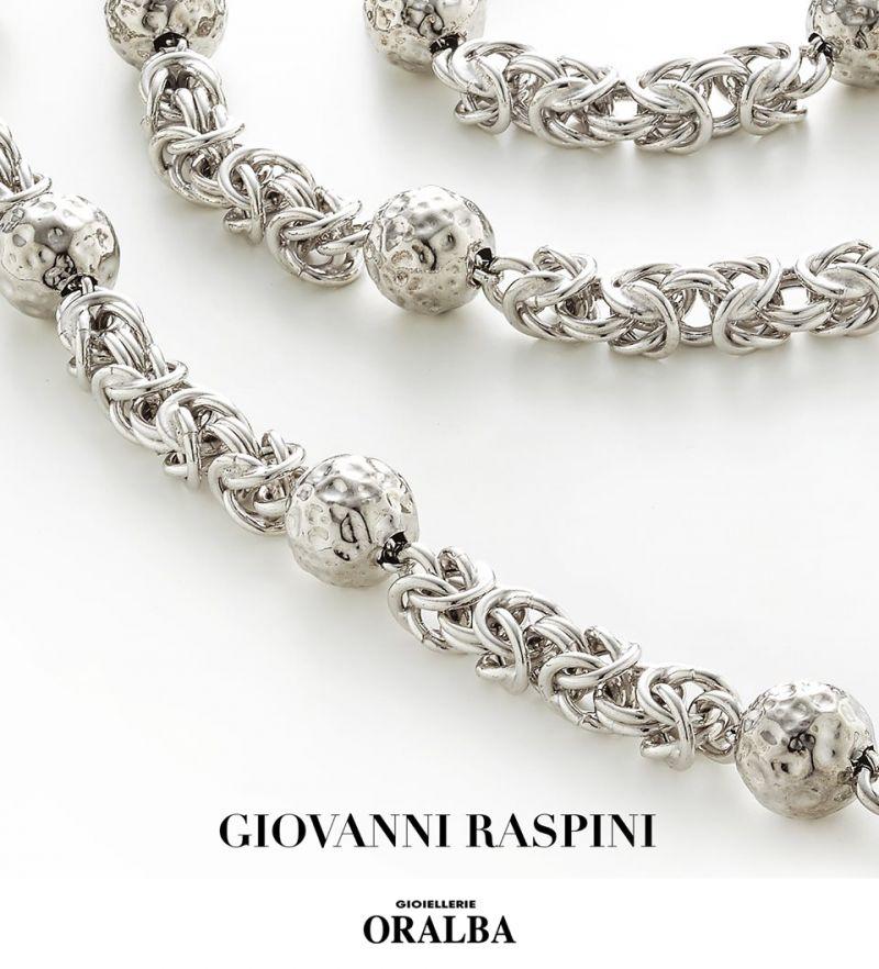Gioielleria ORALBA - offerta bracciali collane giovanni RASPINI impero argento cuneo Alba