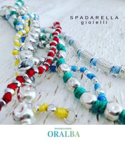 gioiellerie oralba offerta bracciali annodati spadarella cuneo alba valenza