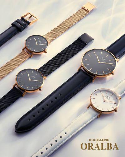 gioiellerie oralba offerta orologi donna daniel wellington cuneo alba valenza