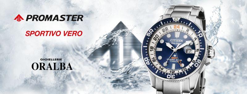 Gioiellerie ORALBA - offerta orologio Citizen Promaster GMT Diver CUNEO Alba