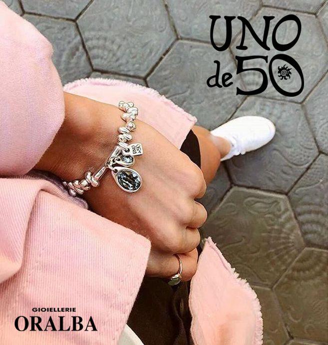 Offerta Gioiellerie Oralba UNODE50 bracciali Collane Orecchini Anelli