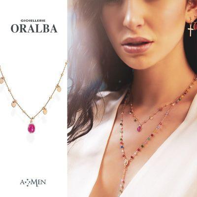 offerta gioiellerie oralba amen rosari anelli bracciali